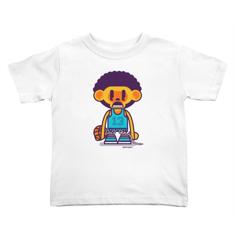 Ghetto Ape Kids Toddler T-Shirt by Monster Squad Shop