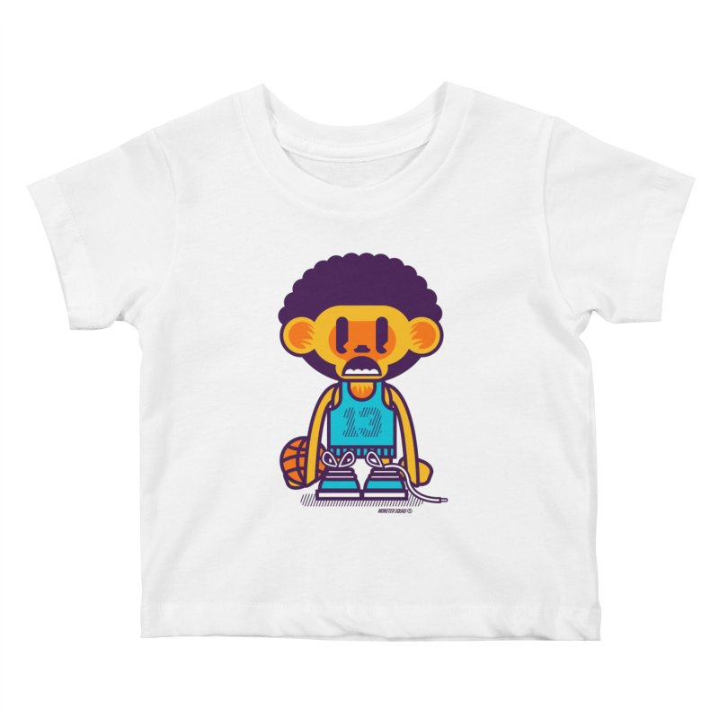 Ghetto Ape Kids Baby T-Shirt by Monster Squad Shop