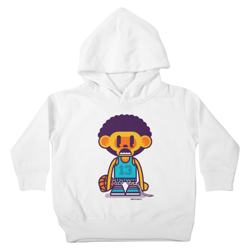 Ghetto Ape Kids Toddler Pullover Hoody by Monster Squad Shop
