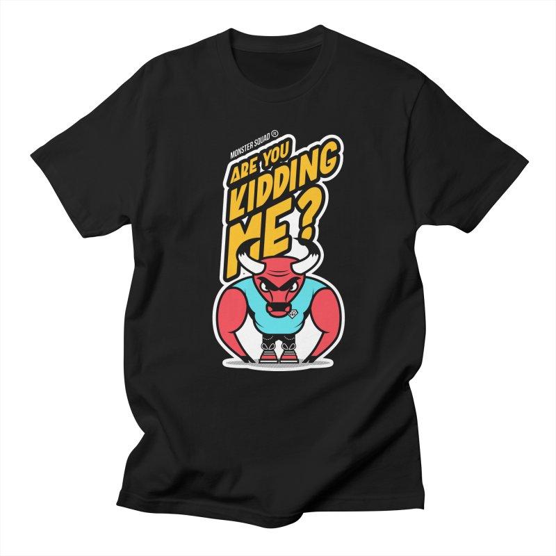 Ghetto Bull Men's T-Shirt by Monster Squad Shop