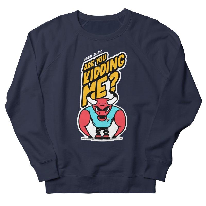 Ghetto Bull Men's Sweatshirt by Monster Squad Shop