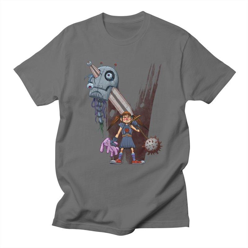 Battle Batilda! in Men's T-shirt Asphalt by Monstercakes's Artist Shop