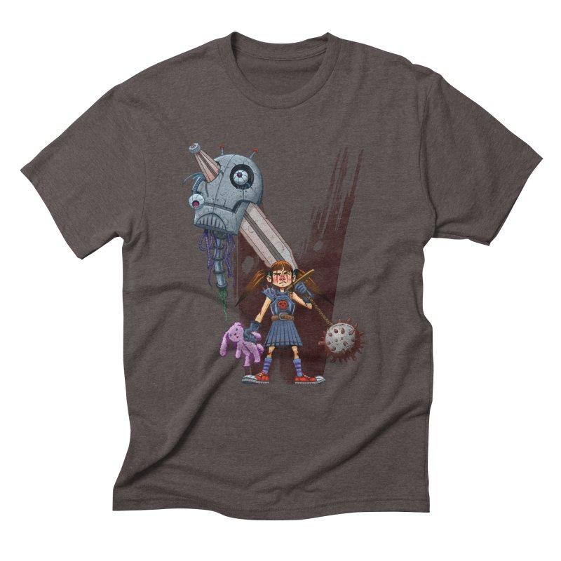 Battle Batilda! Men's Triblend T-Shirt by Monstercakes's Artist Shop