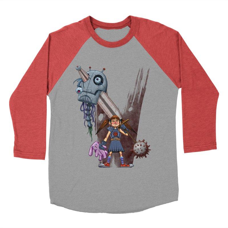 Battle Batilda! Women's Baseball Triblend T-Shirt by Monstercakes's Artist Shop