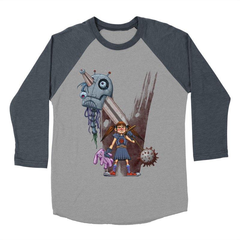 Battle Batilda! Men's Baseball Triblend T-Shirt by Monstercakes's Artist Shop