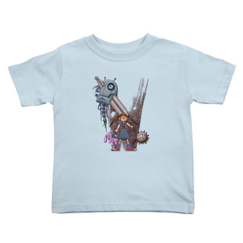 Battle Batilda! Kids Toddler T-Shirt by Monstercakes's Artist Shop
