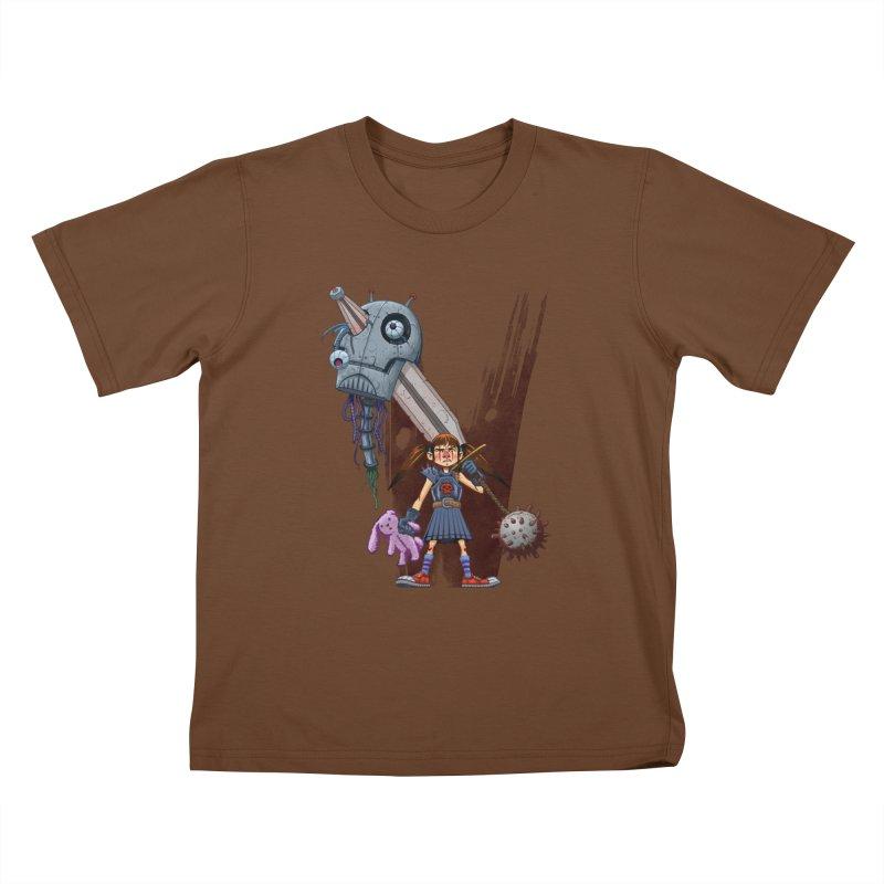 Battle Batilda! Kids T-shirt by Monstercakes's Artist Shop