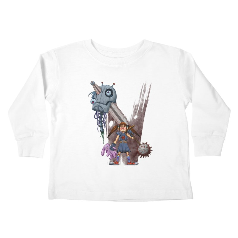 Battle Batilda! Kids Toddler Longsleeve T-Shirt by Monstercakes's Artist Shop