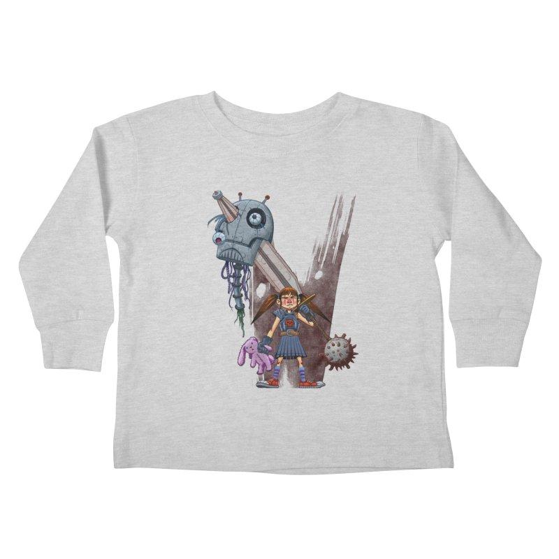 Battle Batilda! Kids Toddler Longsleeve T-Shirt by Monstercakes's Artist Shop