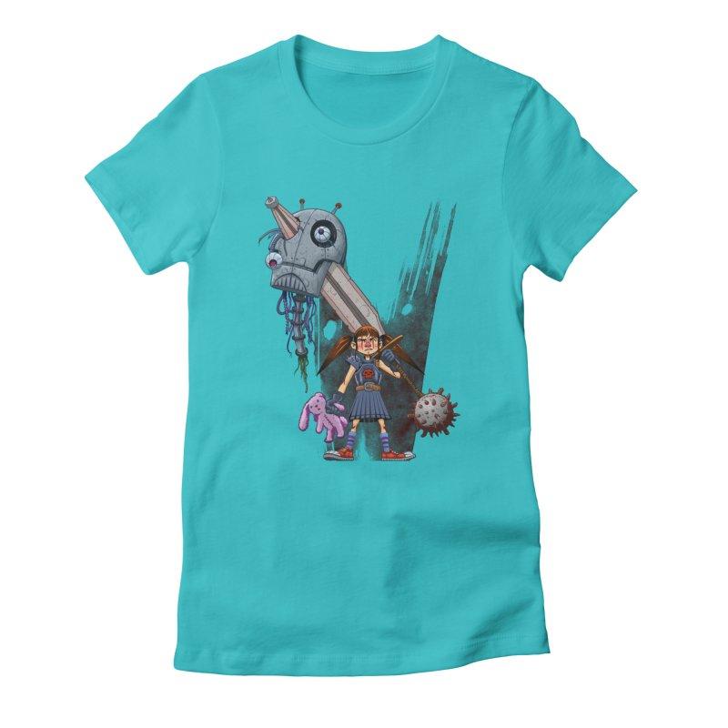 Battle Batilda! Women's Fitted T-Shirt by Monstercakes's Artist Shop