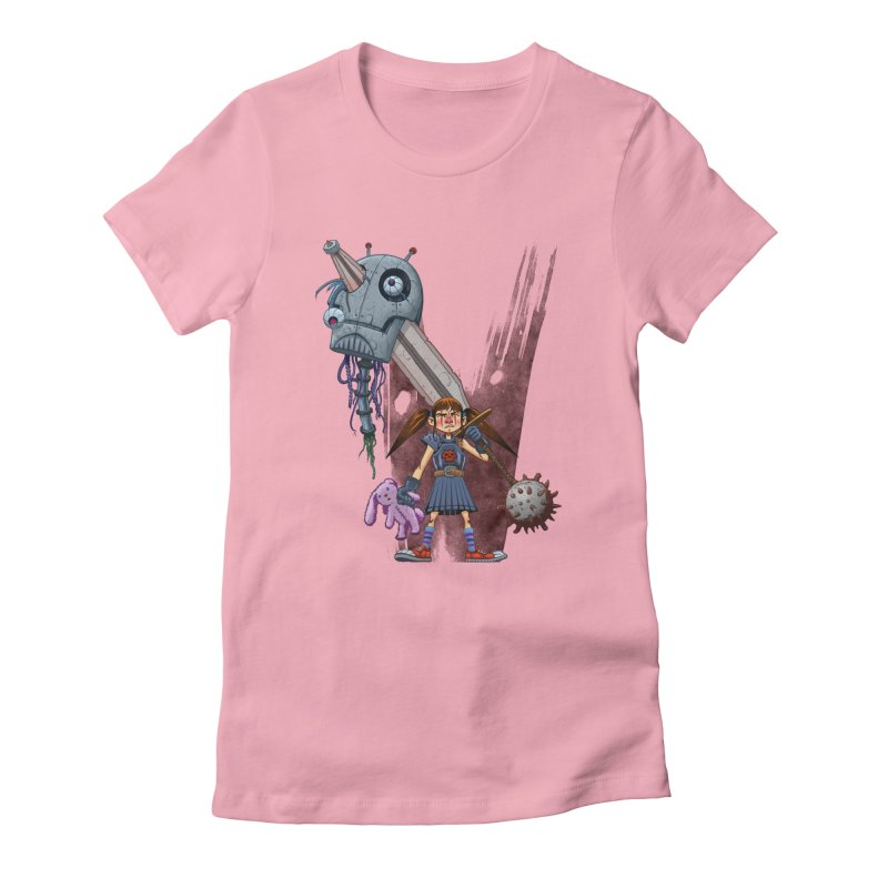 Battle Batilda! Women's Fitted T-Shirt by Monstercakes's Artist Shop