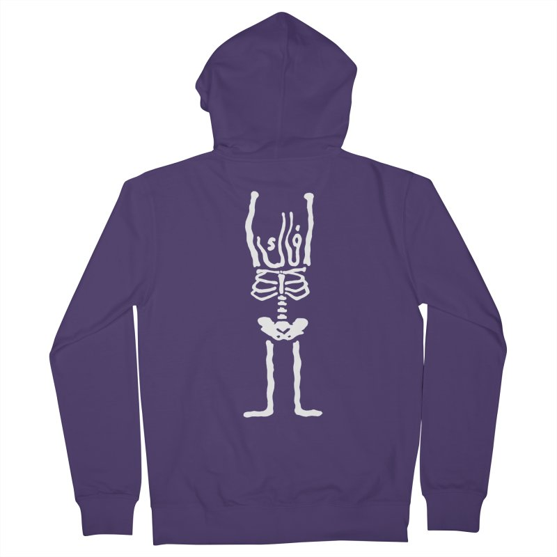 فاك Women's Zip-Up Hoody by Monsterville's Artist Shop