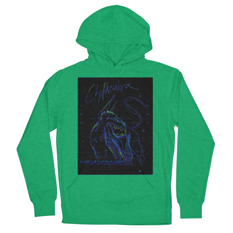 The Chupacabra2! Women's French Terry Pullover Hoody by Monstrous Customs