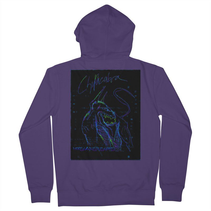 The Chupacabra2! Women's Zip-Up Hoody by Monstrous Customs