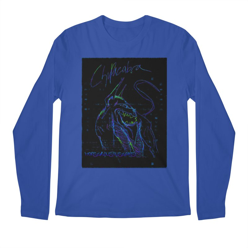 The Chupacabra2! Men's Regular Longsleeve T-Shirt by Monstrous Customs