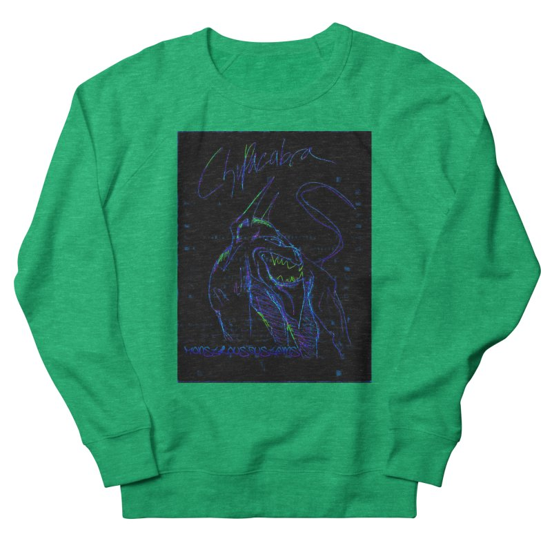 The Chupacabra2! Women's French Terry Sweatshirt by Monstrous Customs