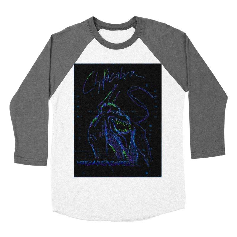 The Chupacabra2! Men's Baseball Triblend T-Shirt by Monstrous Customs