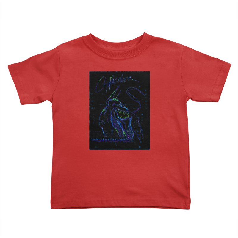The Chupacabra2! Kids Toddler T-Shirt by Monstrous Customs