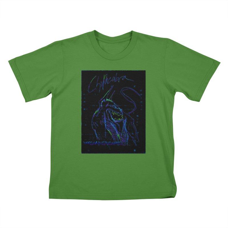 The Chupacabra2! Kids T-Shirt by Monstrous Customs