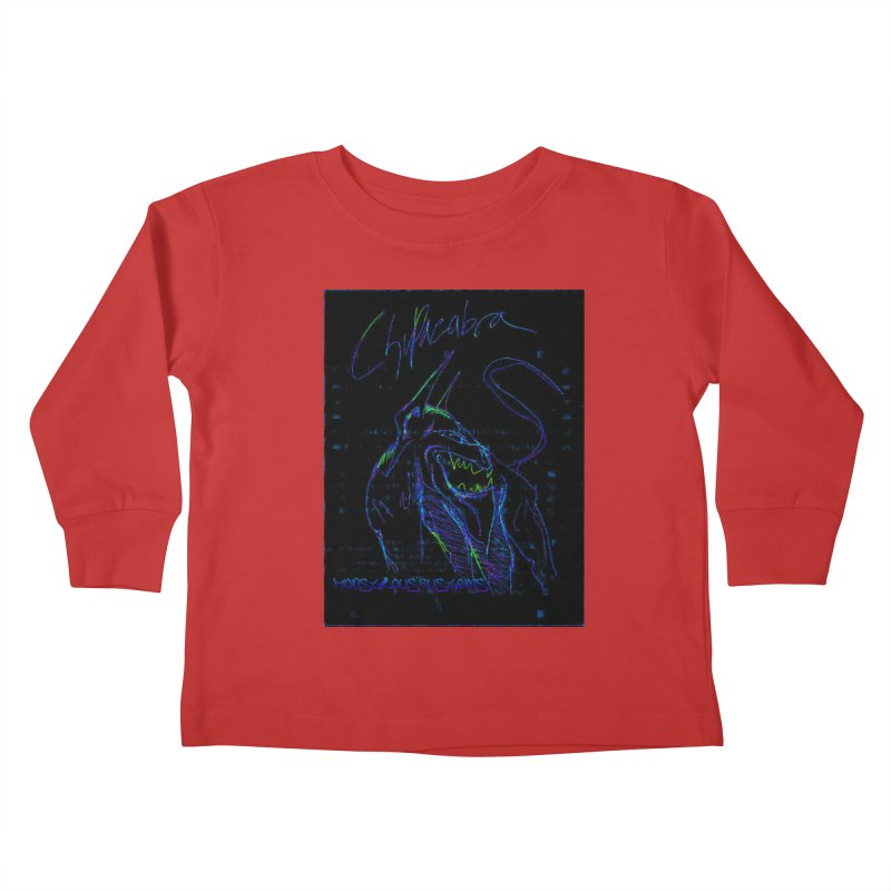 The Chupacabra2! Kids Toddler Longsleeve T-Shirt by Monstrous Customs
