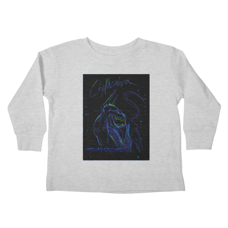 The Chupacabra2! Kids Toddler Longsleeve T-Shirt by Monstrous Customs