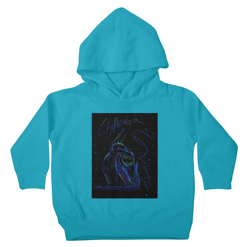 The Chupacabra2! Kids Toddler Pullover Hoody by Monstrous Customs