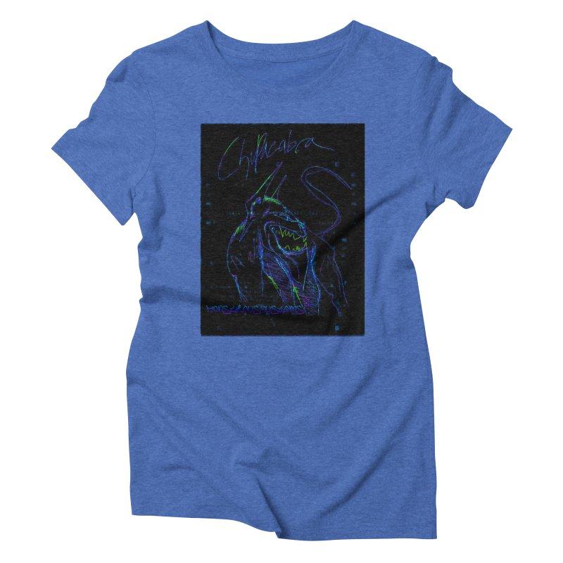 The Chupacabra2! Women's Triblend T-shirt by Monstrous Customs