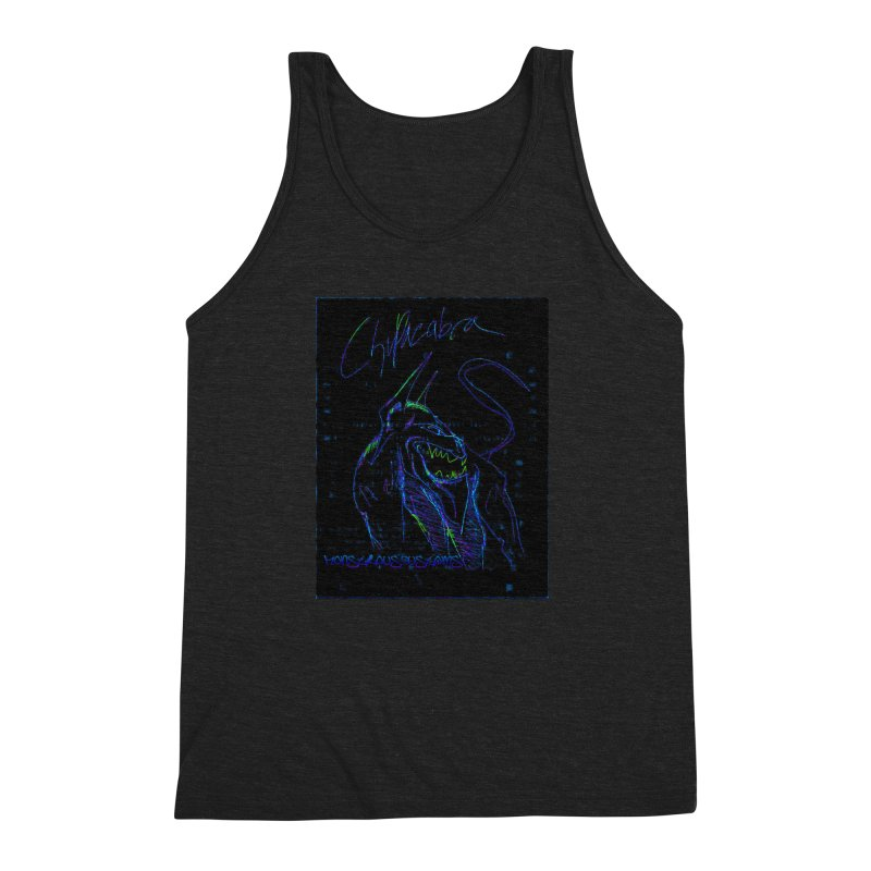 The Chupacabra2! Men's Triblend Tank by Monstrous Customs