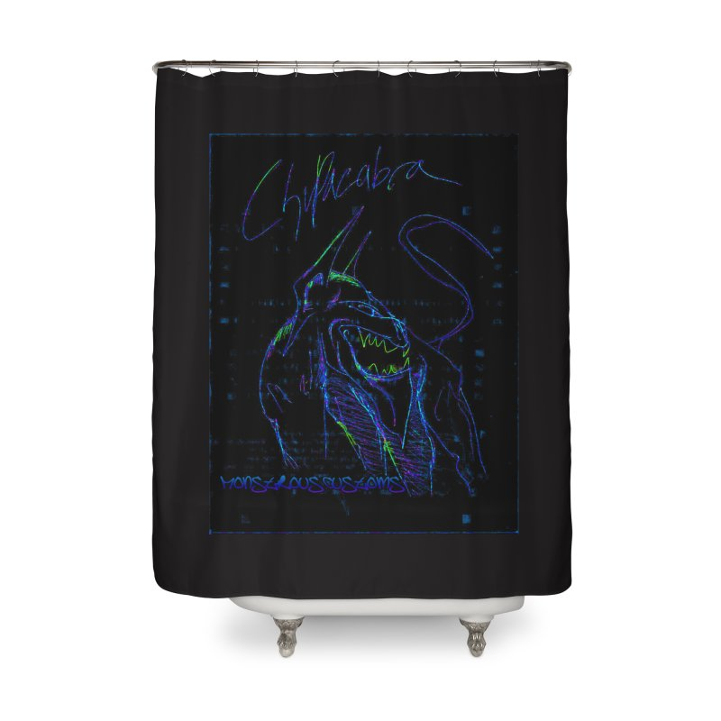 The Chupacabra2! Home Shower Curtain by Monstrous Customs