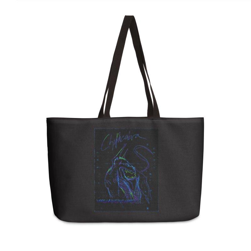 The Chupacabra2! Accessories Weekender Bag Bag by Monstrous Customs