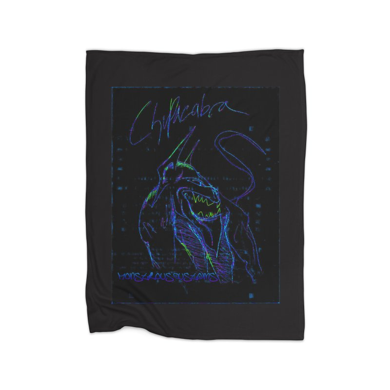 The Chupacabra2! Home Blanket by Monstrous Customs