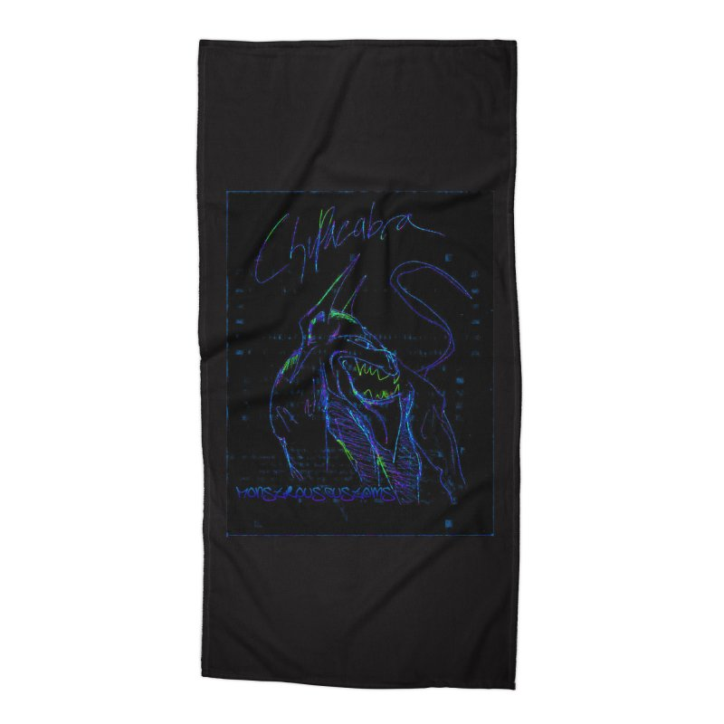 The Chupacabra2! Accessories Beach Towel by Monstrous Customs