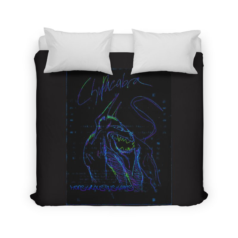 The Chupacabra2! Home Duvet by Monstrous Customs