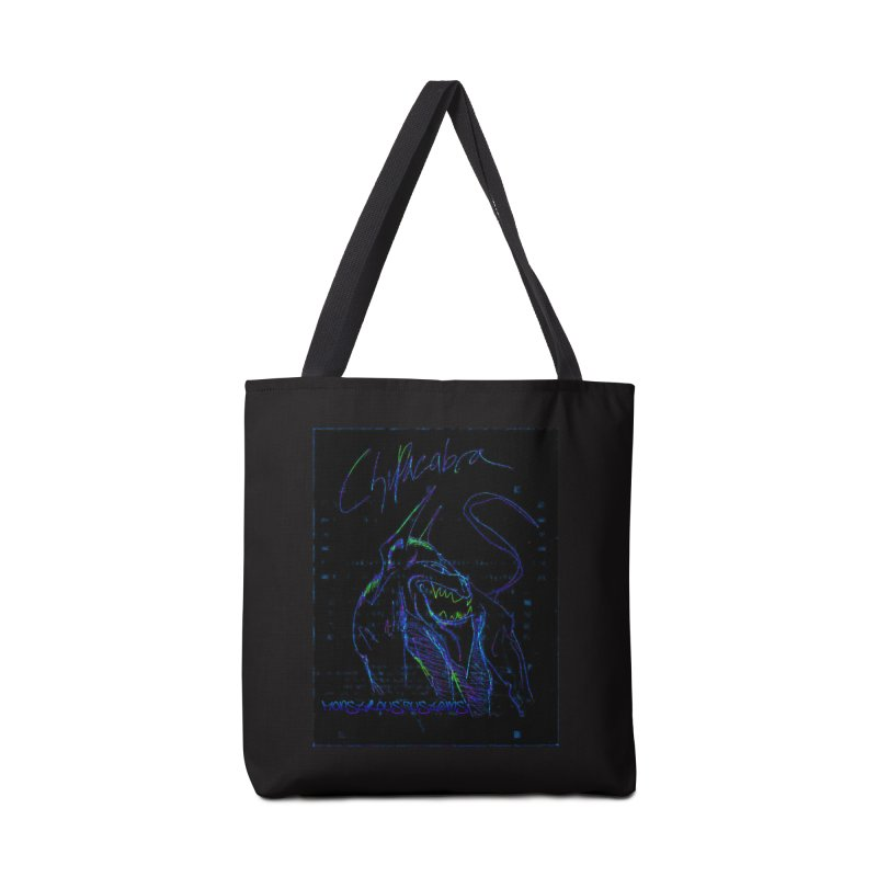 The Chupacabra2! Accessories Tote Bag Bag by Monstrous Customs