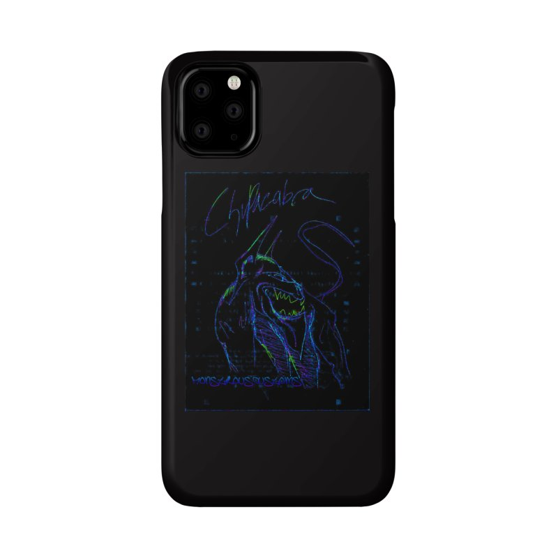 The Chupacabra2! Accessories Phone Case by Monstrous Customs