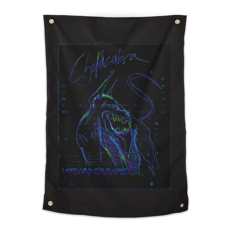 The Chupacabra2! Home Tapestry by Monstrous Customs