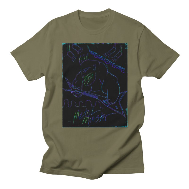 Metal Monster2 Women's Unisex T-Shirt by Monstrous Customs