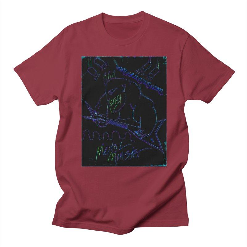 Metal Monster2 Men's T-Shirt by Monstrous Customs
