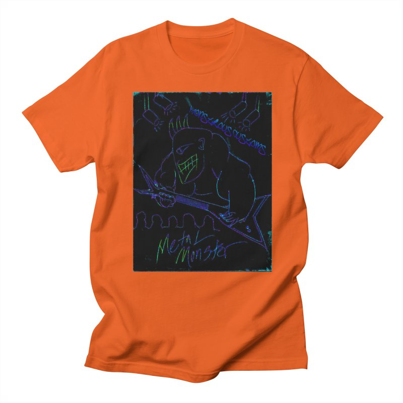 Metal Monster2 Women's Regular Unisex T-Shirt by Monstrous Customs