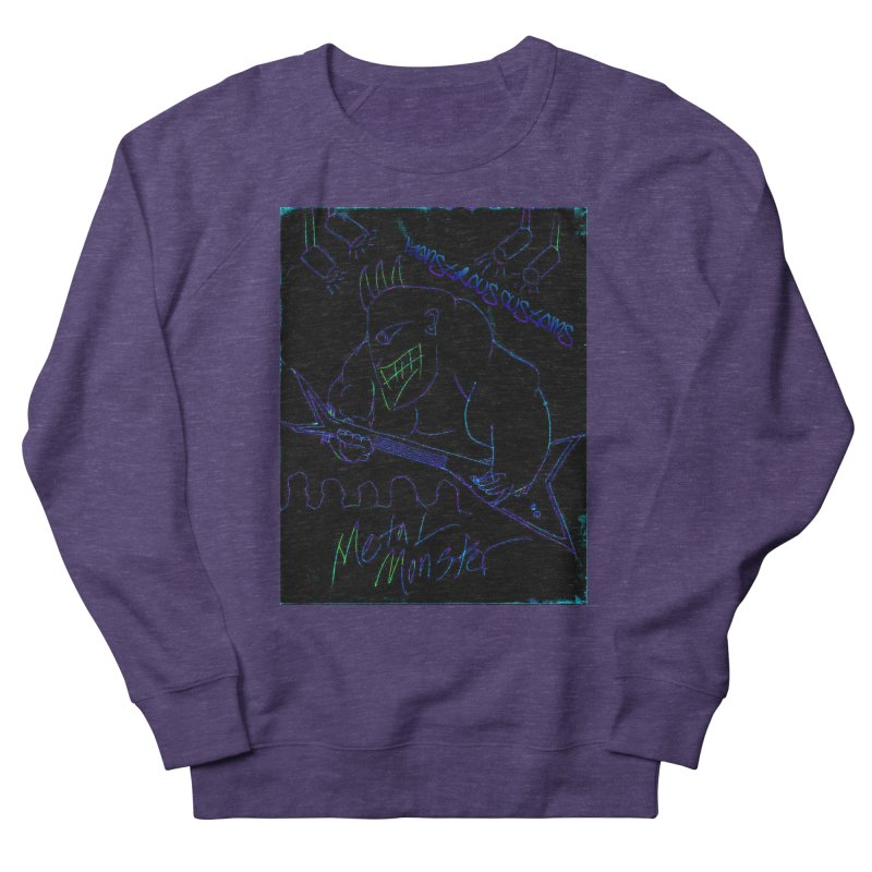 Metal Monster2 Men's Sweatshirt by Monstrous Customs