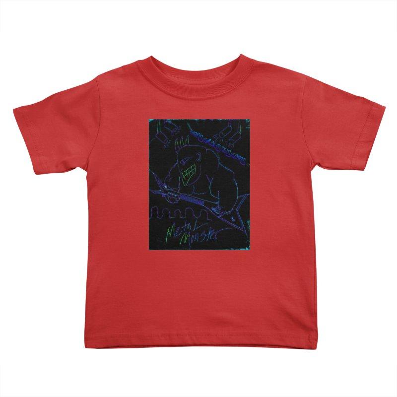 Metal Monster2 Kids Toddler T-Shirt by Monstrous Customs