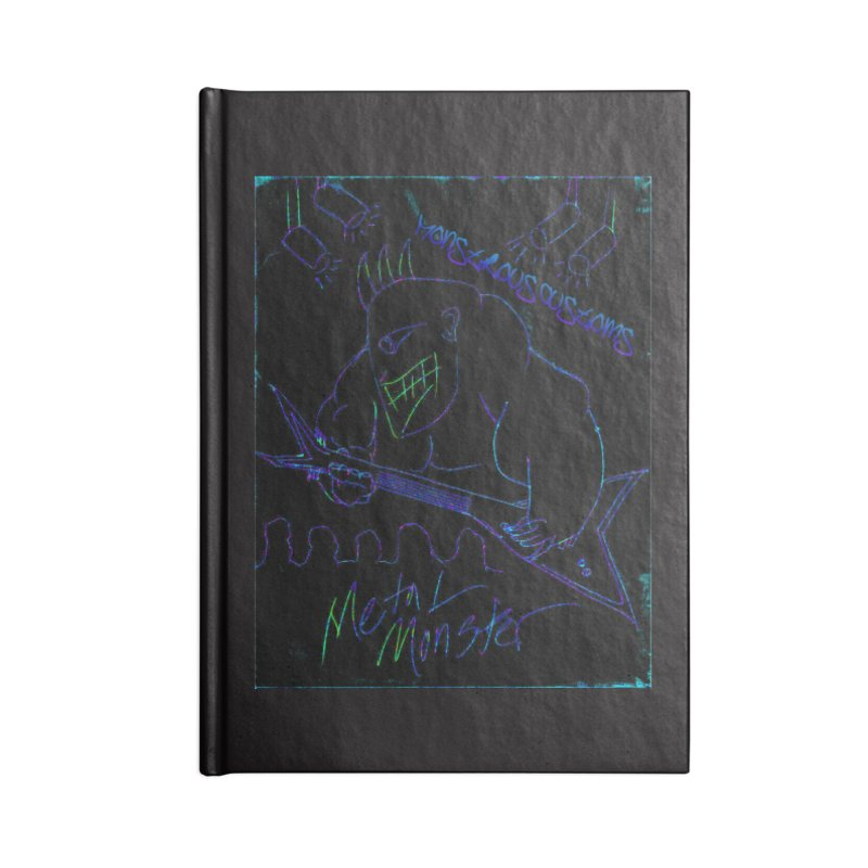 Metal Monster2 Accessories Notebook by Monstrous Customs
