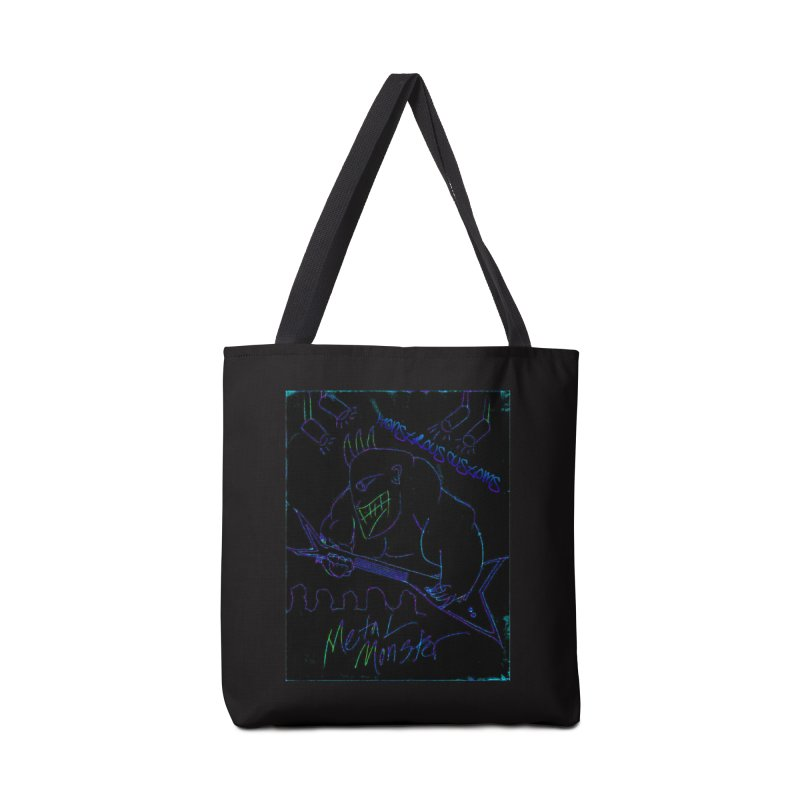 Metal Monster2 Accessories Tote Bag Bag by Monstrous Customs