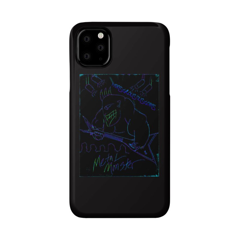 Metal Monster2 Accessories Phone Case by Monstrous Customs