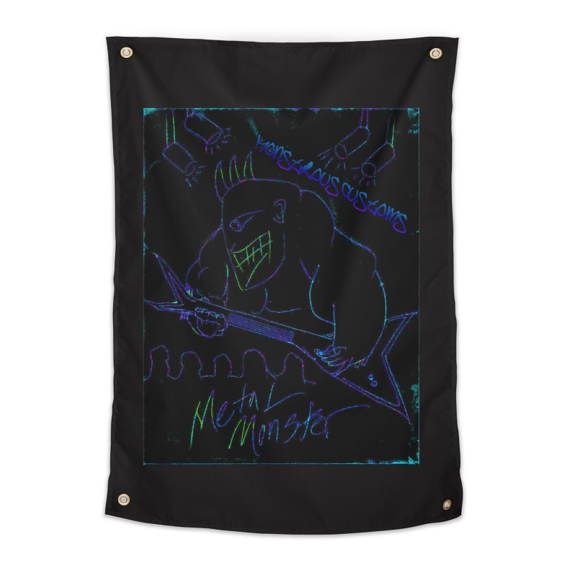 Metal Monster2 Home Tapestry by Monstrous Customs