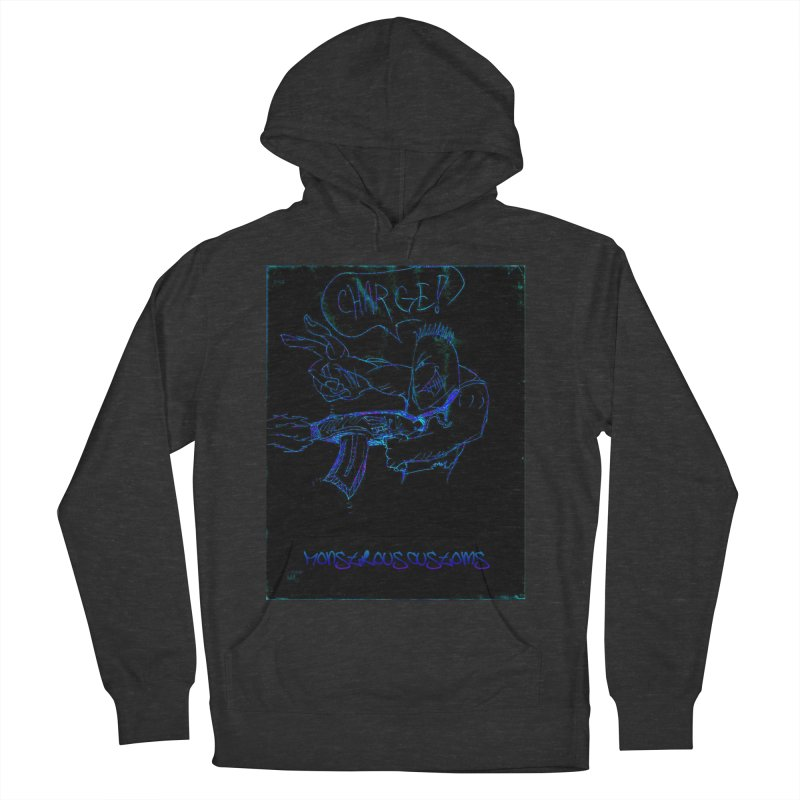 Alien Foot Soldier2 Women's French Terry Pullover Hoody by Monstrous Customs