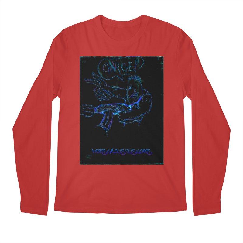 Alien Foot Soldier2 Men's Regular Longsleeve T-Shirt by Monstrous Customs