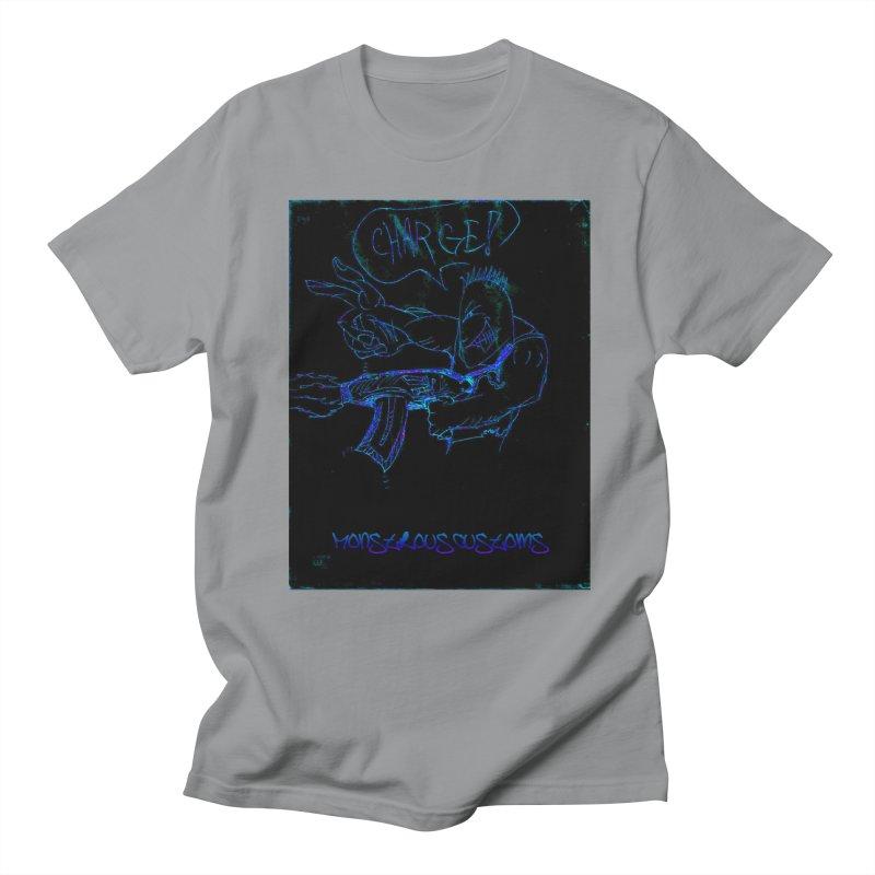 Alien Foot Soldier2 Men's T-shirt by Monstrous Customs