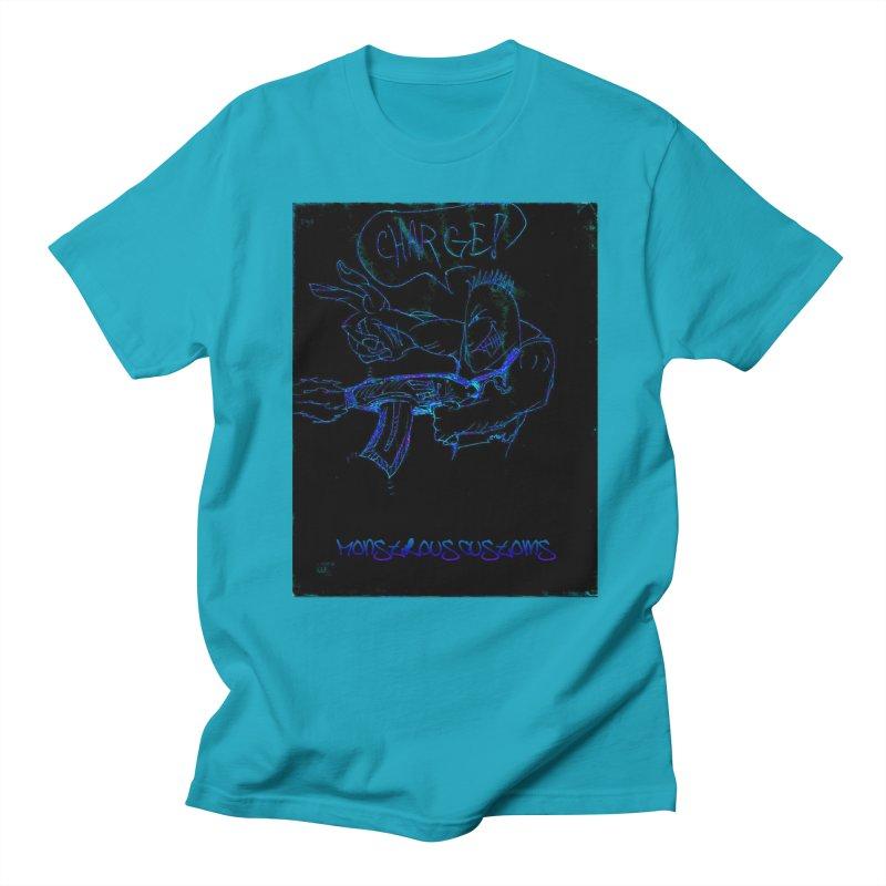 Alien Foot Soldier2 Women's Regular Unisex T-Shirt by Monstrous Customs