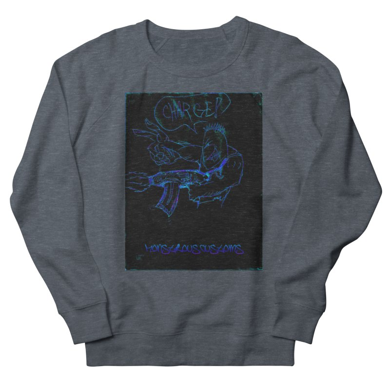 Alien Foot Soldier2 Men's Sweatshirt by Monstrous Customs